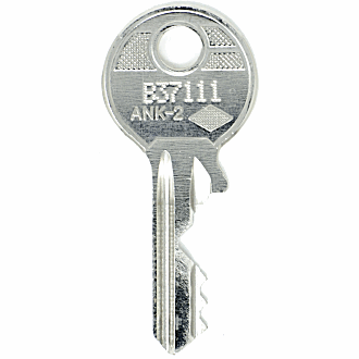 Ahrend B37111 - B43777 - B43541 Replacement Key