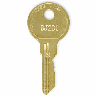 Allsteel BJ201 - BJ1100 - BJ759 Replacement Key