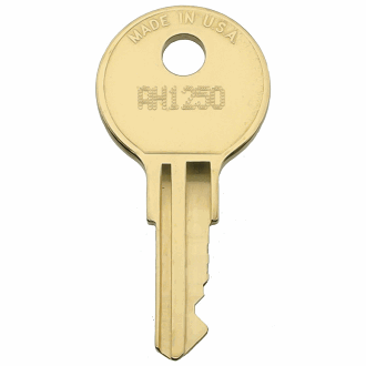 Anderson Hickey AH1250 - AH1499 - AH1292 Replacement Key