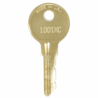 CompX Chicago 1001XC - 1250XC - 1125XC Replacement Key