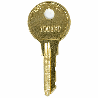 CompX Chicago 1001XD - 1250XD - 1155XD Replacement Key