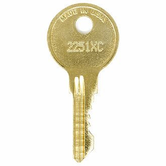 CompX Chicago 2251XC - 2500XC - 2350XC Replacement Key