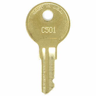 CompX Chicago C501 - C700 - C664 Replacement Key