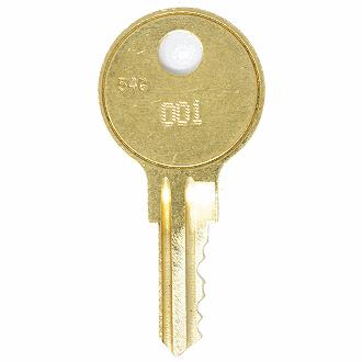 007 092 Tool Box Chest 2 Husky Replacement Tubular Toolbox Keys Codes 001