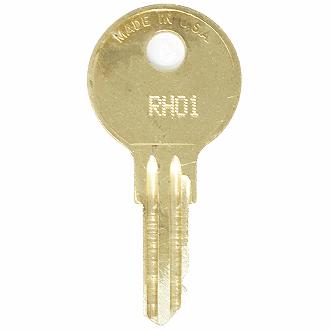 2  Stanley Toolbox Keys Code Cut EL251 EL300 Replacement Tool Box Lock Key