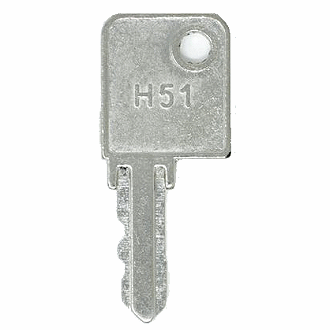 Hirsh Industries H51 Replacement Keys Easykeys Com