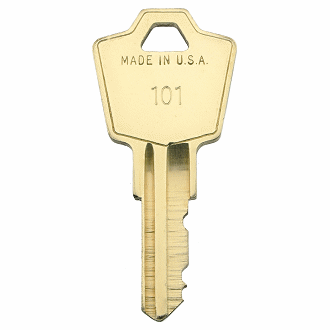HON 101 - 225 - 112 Replacement Key