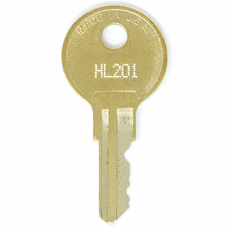 Hudson HL201 - HL400 - HL260 Replacement Key