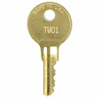 Hudson TW01 - TW50 - TW10 Replacement Key
