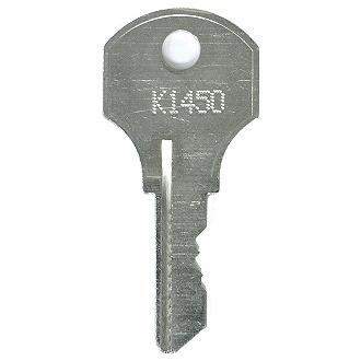 Kennedy K1450 K1699 Replacement Keys Easykeys Com