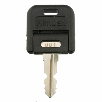 Kimball Office 001 - 200 [DOUBLE SIDED] - 102 Replacement Key