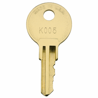 Kimball Office K501 - K735 - K557 Replacement Key