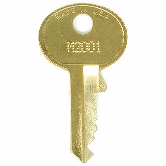 Master Lock M2001 - M5000 Replacement Keys - EasyKeys.com 6b9be45e91e2