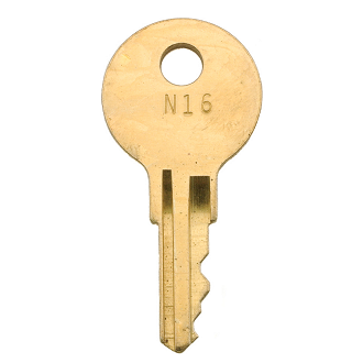 National Office N01 - N75 - N46 Replacement Key