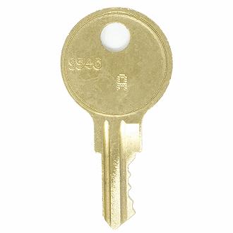 Keys for Sentry Safe / Schwab file cabinets and desks