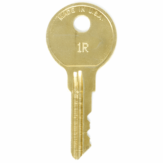 Steelcase 1R - 200R - 52R Replacement Key
